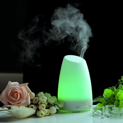 GXZOCK Upgraded Version Aromatherapy Essential Oil Diffuser Ultrasonic Diffusers Cool Mist Humidifier with 7 Colors LED Lights and Waterless Auto Shut-Off for Home Office Bedroom Room