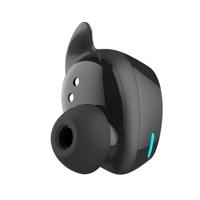 Innovative Mini Sweatproof in-Ear Headphones True Wireless Sport TWS Bluetooth Earphone with V5.0 and Mic for Smartphones