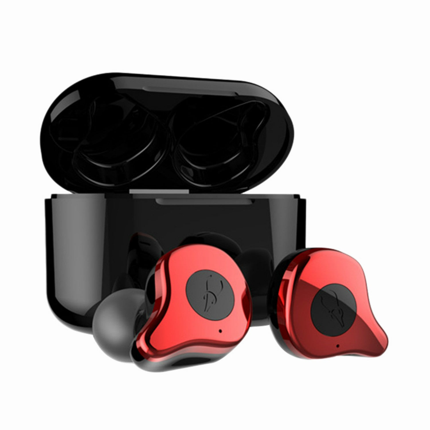 TWS Wireless Bluetooth Earphone HIFI Monitor Noise In ear Sport Headset Wireless Charging Box
