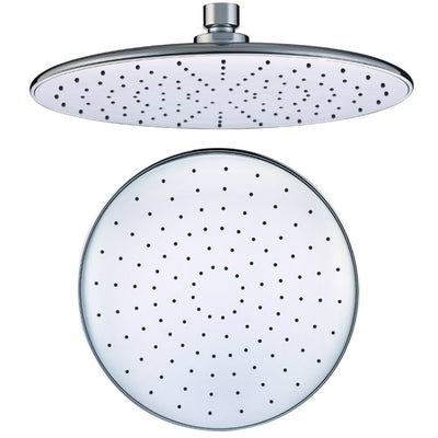 HIGH PRESSURE Shower Head, 10 Inch Rain Showerhead, Ultra-Thin Design-Best Pressure Boosting, Awesome Shower Experience Even At Low Water Flow, Nearmoon High Flow Stainless Steel Rainfall Shower Head