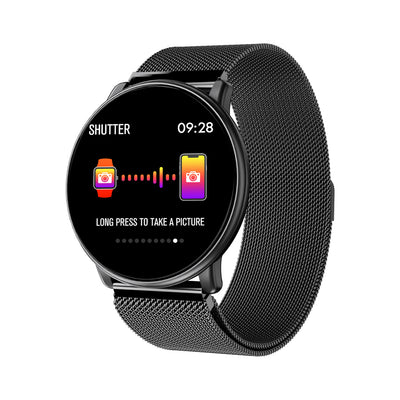Full Touch Screen Varies Surface  Smart Watch With Heartrate Blood Pressure Function sports men wristband,1.33 inch big colored screen