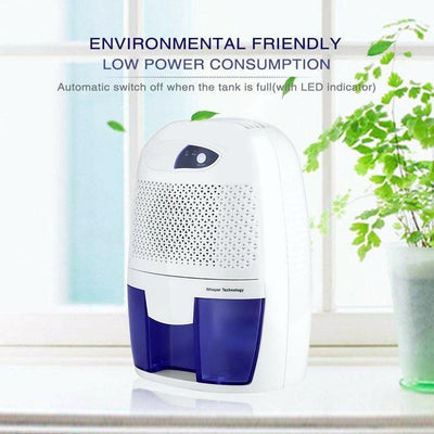 new mini air dryer portable dehumidifier with 500ml water tank  , Home Dehumidifier for Bathroom, Crawl Space, Bedroom, RV, Baby Room