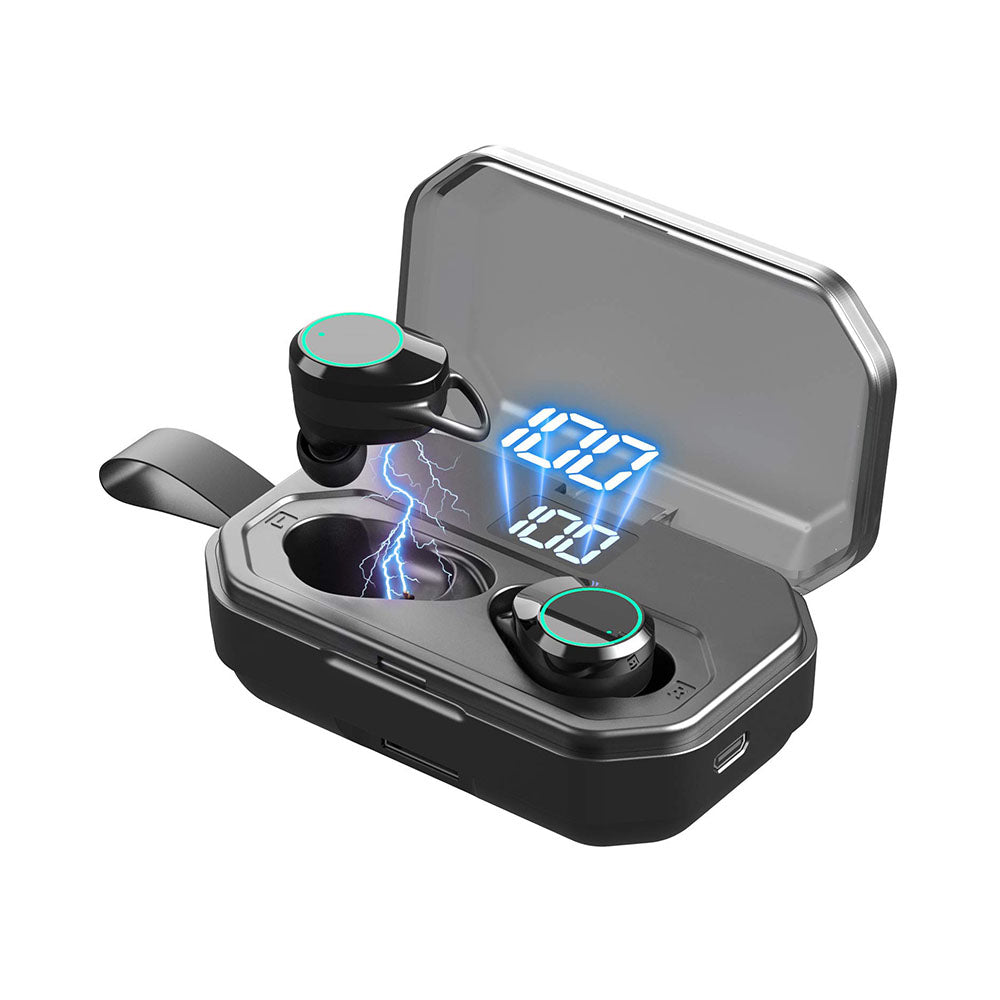 TWS Wireless Earphones X6 Pro TWS Blue tooth Earphone V5.0 True Wireless Earphones Earbuds Waterproof with 3000mah Power Bank