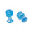 Keco 8 mm Ice Dimpled Round Hail Tab (5 Pack)