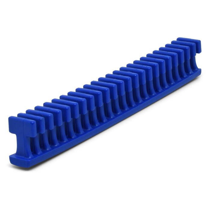 Centipede 12.5 mm Blue Flexible Thick Smooth Crease Glue Tab - 6""