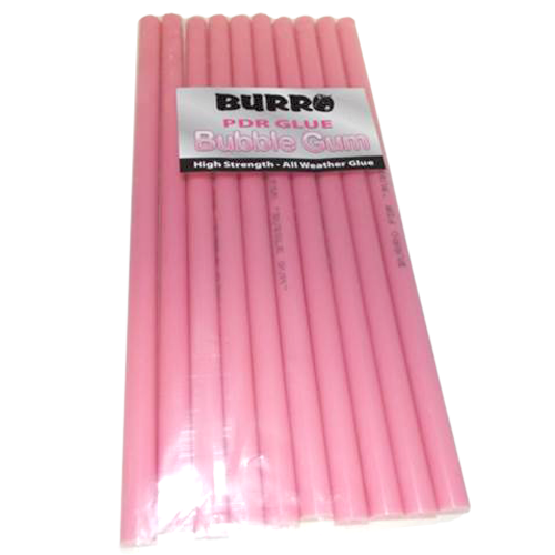 Burro Bubble Gum Pink PDR Glue Sticks (10 Sticks) (PBG)