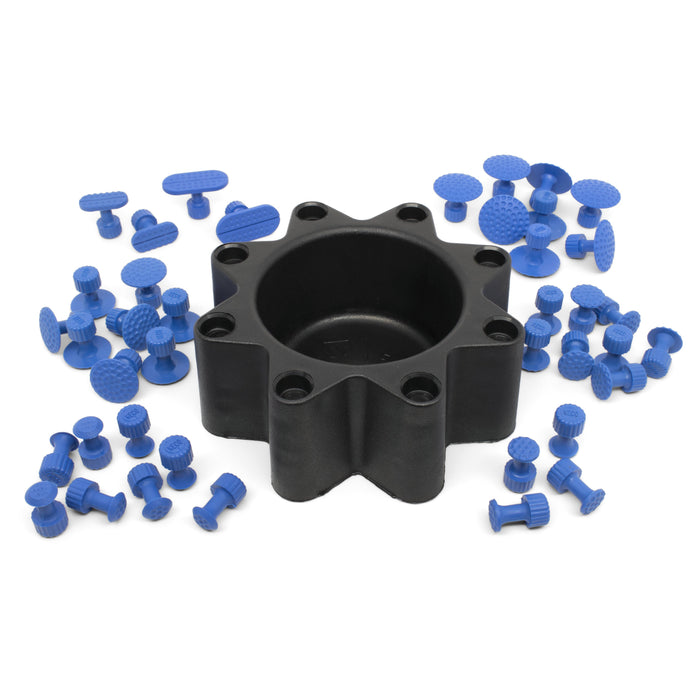 Keco Variety Pack Blue Dimpled Hail Tabs with Caddy (40 Tabs)
