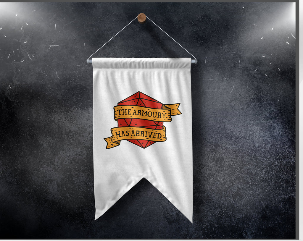 The Armoury Pennant Banner