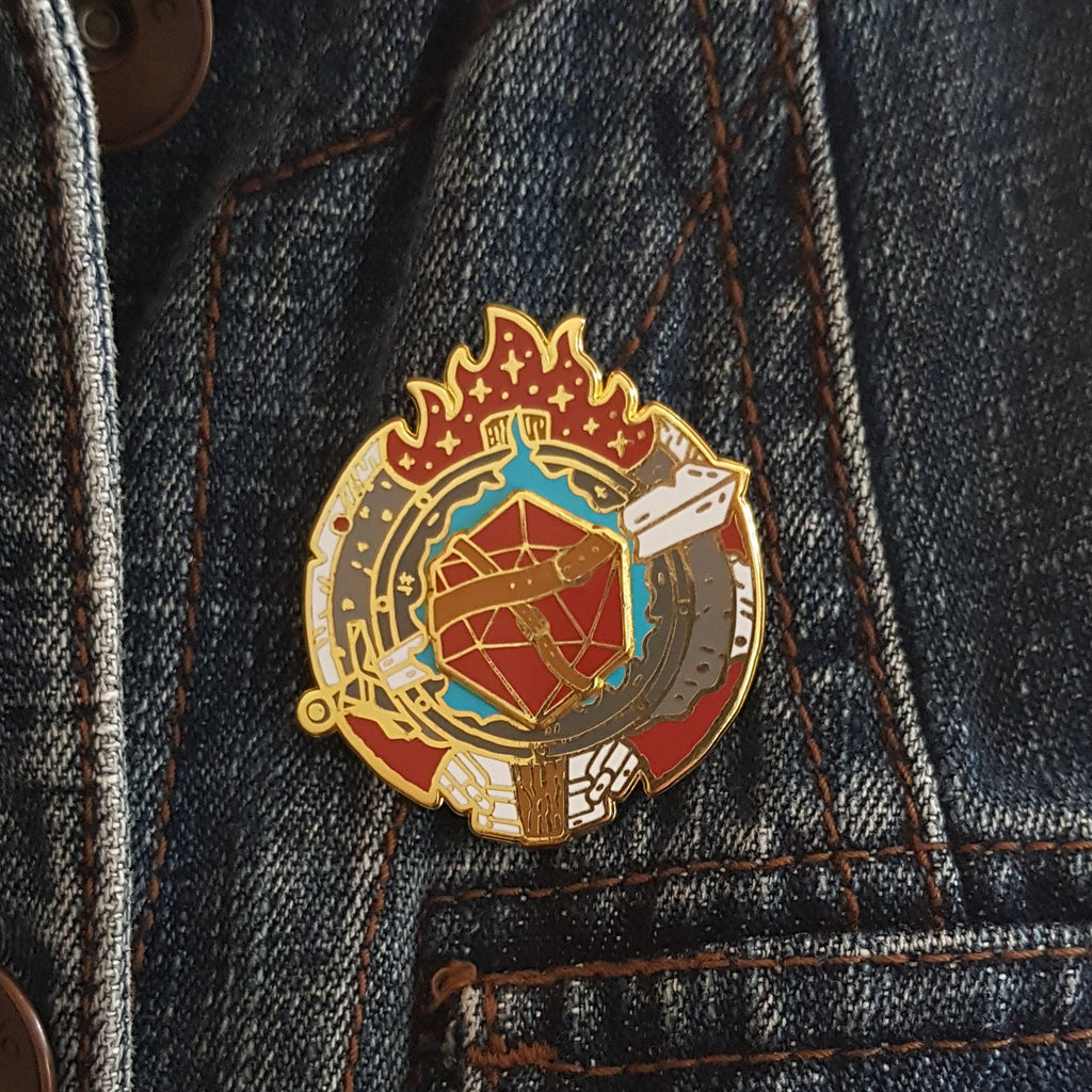 Fighter Pin
