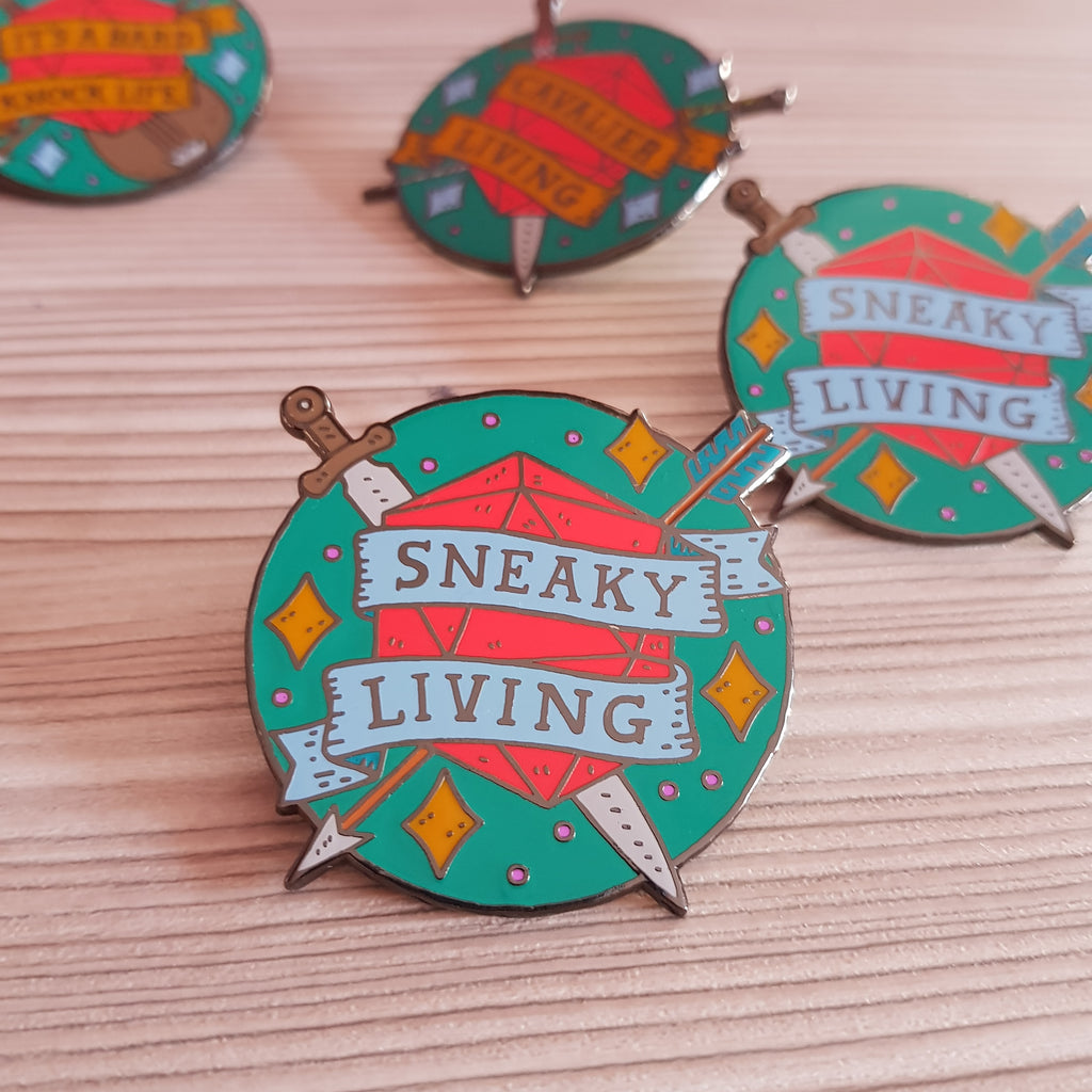 Rogue - sneaky living pin