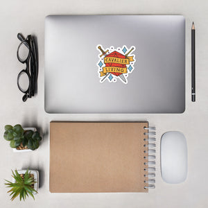Cavalier Living Die-Cut Sticker