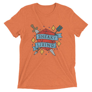 Sneaky Living UNISEX Short sleeve t-shirt