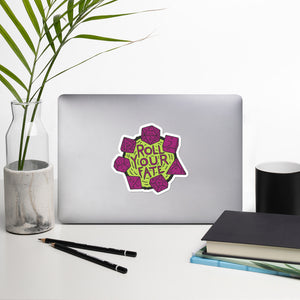 Roll Your Fate, Die-Cut Sticker