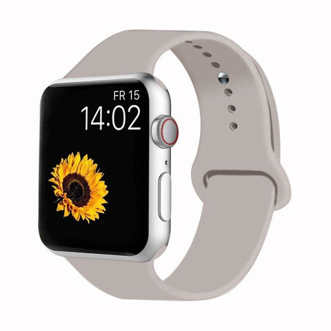 Sport Band Compatible for Apple Watch - 38mm/40mm S/M / Lavender