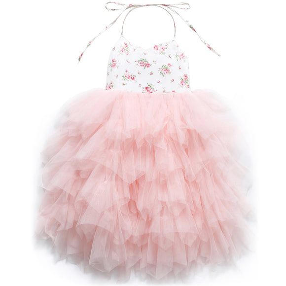 Special Occasion Tutu Wedding Party Girls Dress