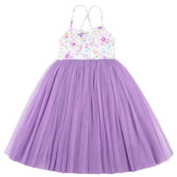 Girls Tulle Dress Wedding Party Special Occasion Dress for Kids