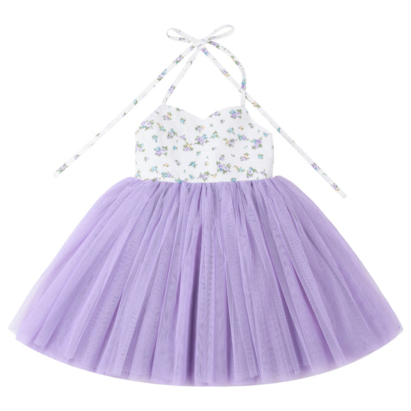 Toddler Girls Tutu Dress Wedding Party Christening Baby Dress
