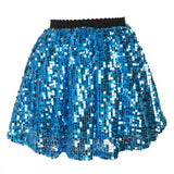 Girls Sequins Skirt Mini Sparkle Kids Skirt for 1- 12 Years old
