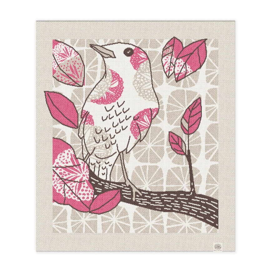 """the birdwatcher"" in rose"