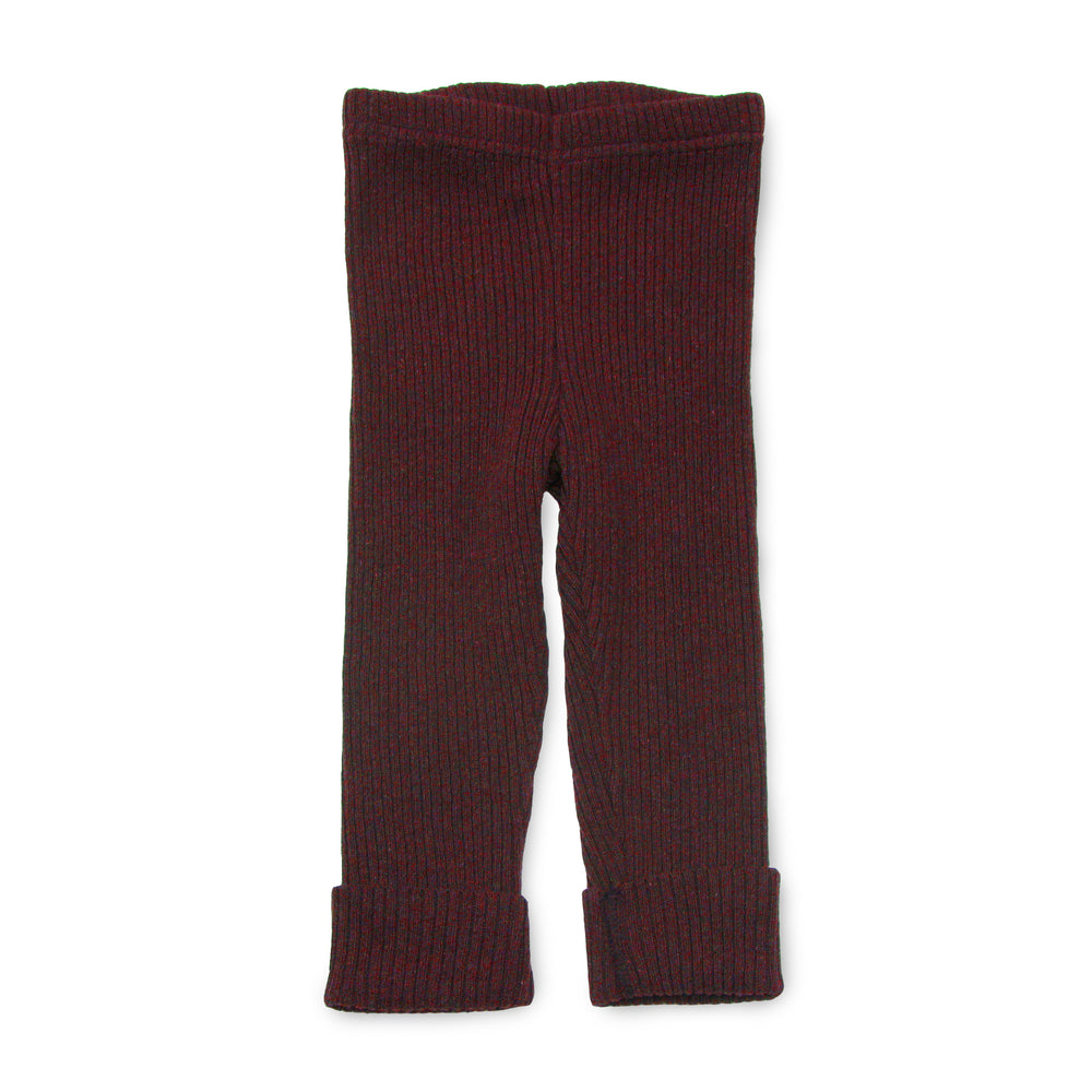 """fancy pants"" in burgundy"