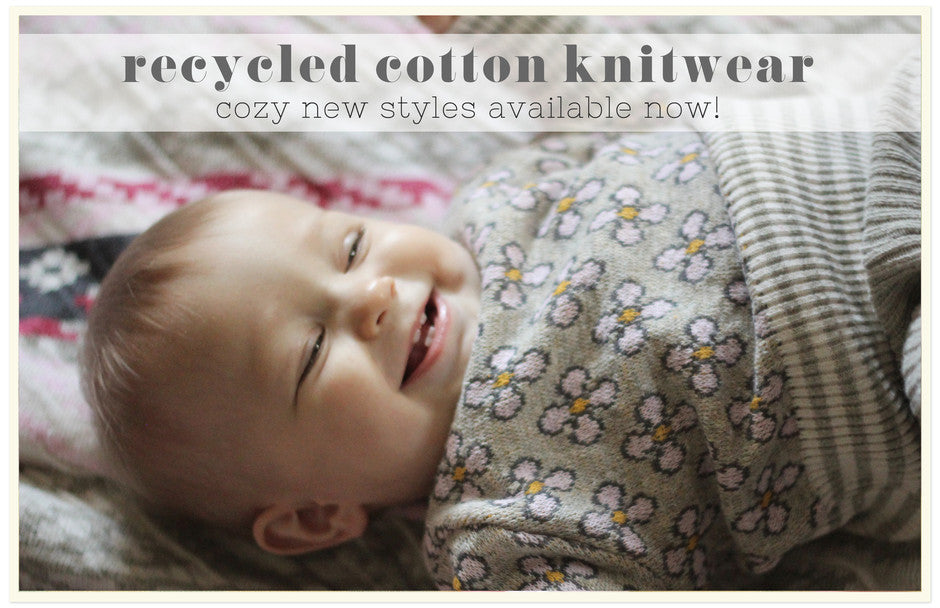 http://www.loopcollection.com/collections/recycled-cotton-knitwear