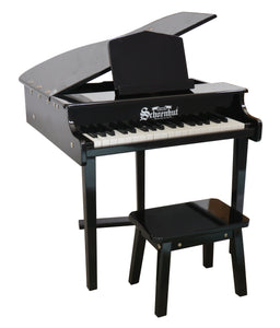 Schoenhut Concert Grand Piano 37-Key Black