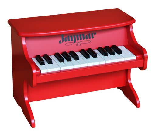 Jaymar 25 Key Table Top Piano Red