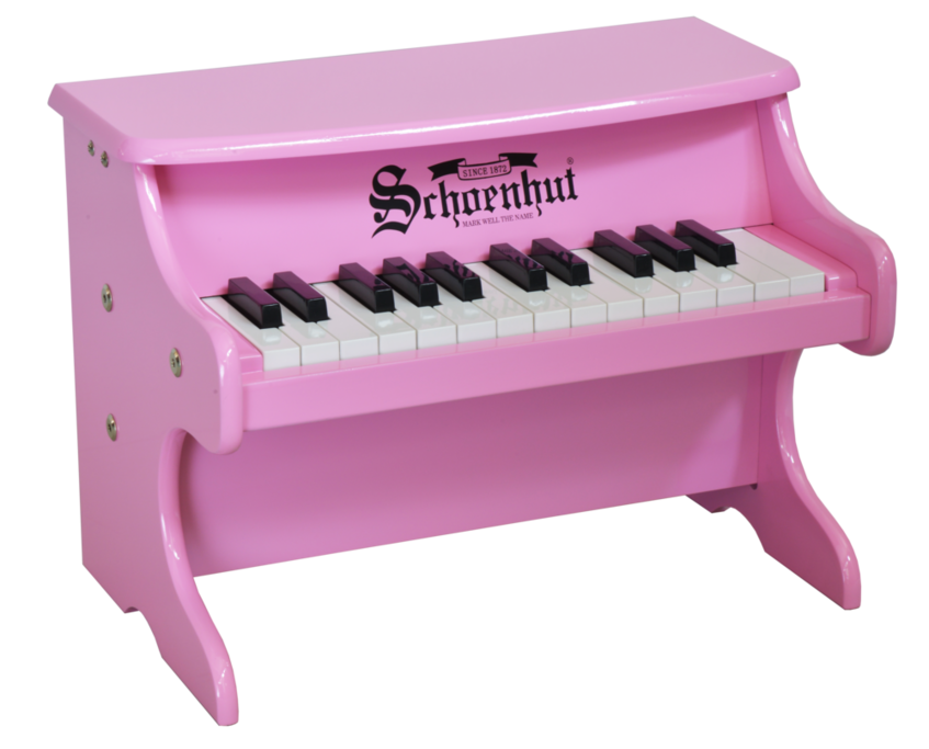 Schoenhut My First Piano II 25-Key Pink