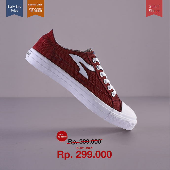 Sneakon Folks Maroon - Special Offer : Discount