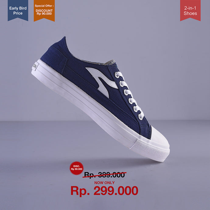 Sneakon Folks Navy - Special Offer : Discount