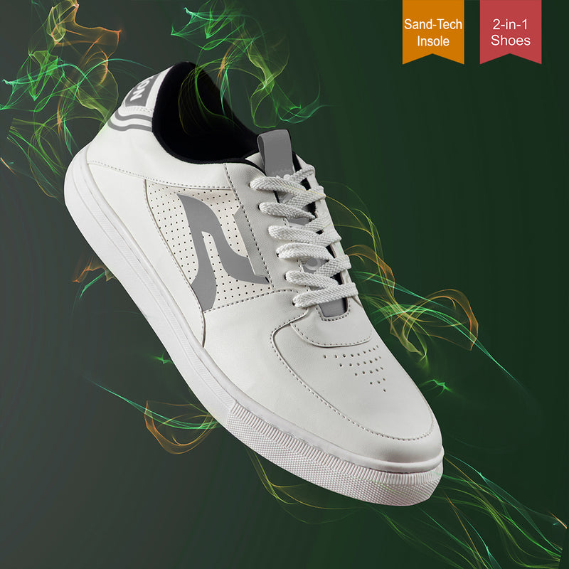 Sneakon 2in1 Luminous Whitegrey - Men