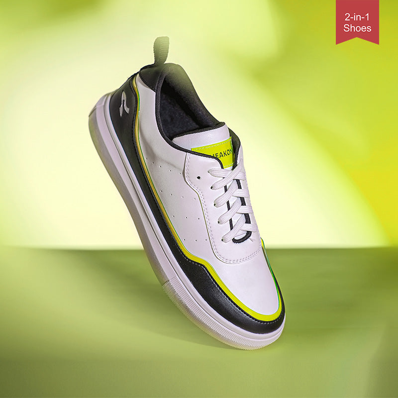 Sneakon 2in1 Ace Lime - Women