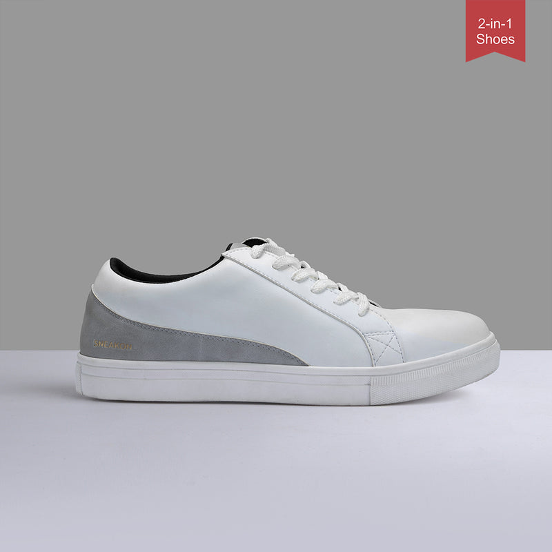 Sneakon 2in1 Ultra Whitegrey - Men