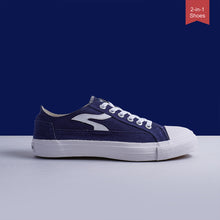 Load image into Gallery viewer, Sneakon Folks Navy - Unisex
