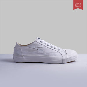 Sneakon Folks Dusty White - Special Offer : Free Gift + Subsidi Ongkir