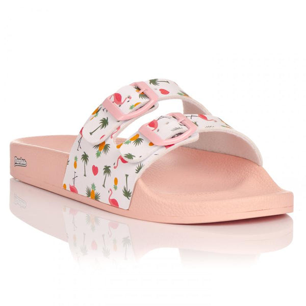SANDALIA SLIDE MAVERIK PINK FLAMINGO