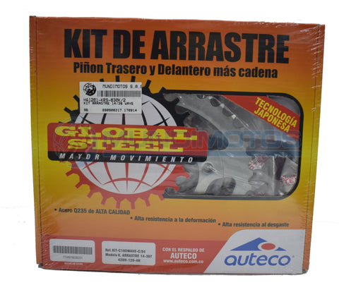 Kit Arrastre 14/36 Honda Wave Genérico