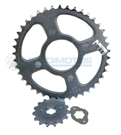 Kit Sprocket Honda Invicta 15/42 Generico Cassarella