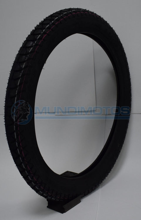 Llanta Queen Tire 17-250 Mr-106 Fr/ Rr- Tl Original - Genuine parts - Mundimotos