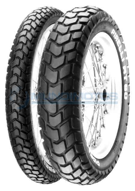 Llanta Pirelli 110/90-17 Mt60 Trasera Tt Original - Genuine parts - Mundimotos