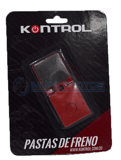 Pastilla freno tras Akt Jet5-R original - Genuine parts