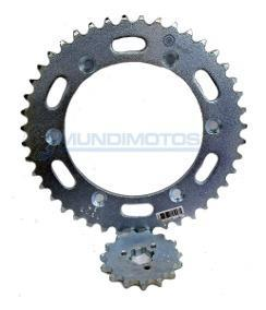 Kit Sprocket 13/42 Honda Xl200 Original - Genuine parts - Mundimotos
