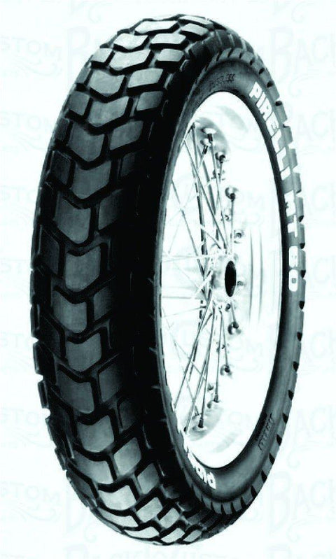 Llanta Pirelli 110/80R - 18 Mt 60 Rs Tl Delantera Original - Genuine parts - Mundimotos