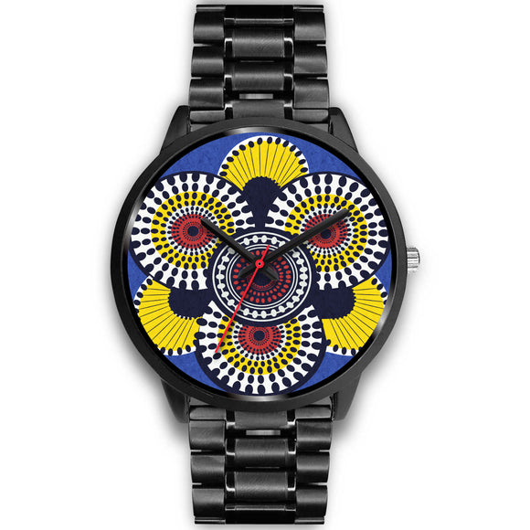 Round in Circles Watch - Black