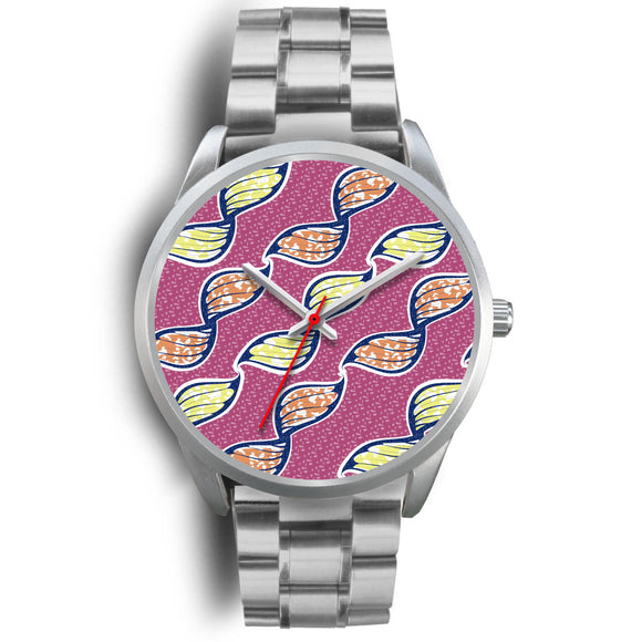Pink Lemonade Watch - Silver