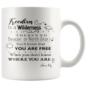 Blues to Freedom 11oz Mug