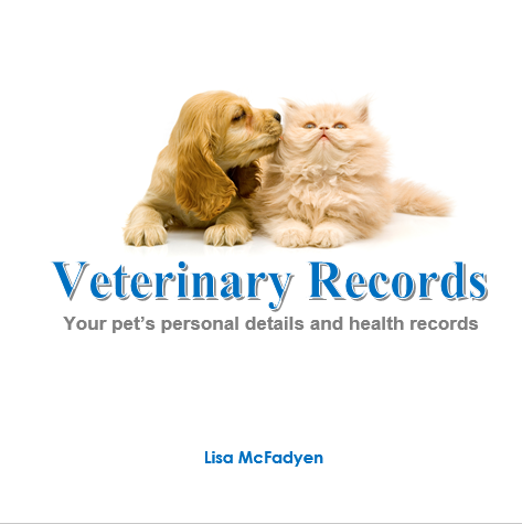 Veterinary Record Book