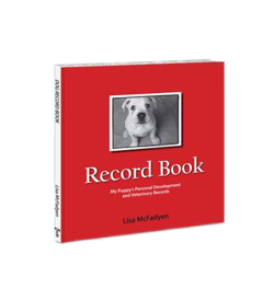 Book - Puppy Records & Photos (Add your puppy photo to the cover)