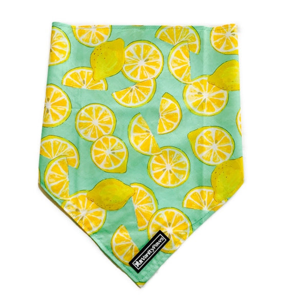 Lemon Squeeze - Bandana  Large