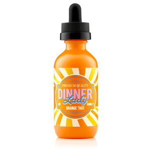 Dinner Lady Dessert Orange Tart Shortfill E-Liquid - Vape Chic